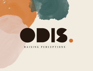 ODIStudios logo studio icon branding vector design bold logo typography
