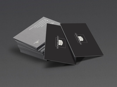 Lauinger Immobilien Business Card / Freelance design