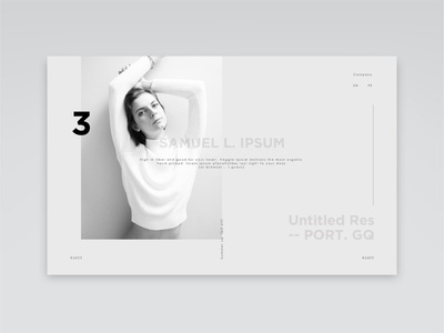 Lucky -- Lady dribbble simple grey clean minimalist website design webdesign typography illustration vector minimal landing page concept branding website ux ui design