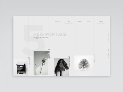 Lucky-- Lady white letter numbers 2020 trend trending grey clean interface interior webdesign minimal dribbble concept branding landing page website ux ui design