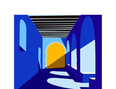 old medina illustration by MerSoDesign