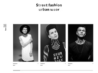 Jakedavies. Fashion Website