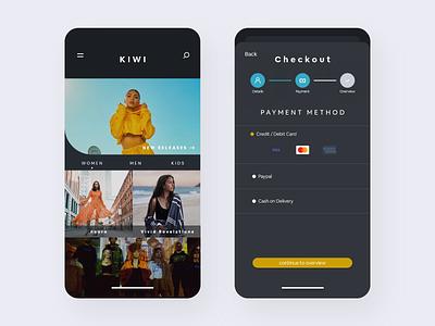E-commerce Shop branding user flat minimal daily 100 challenge app ux ui design