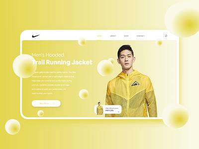 Nike Website Store nike website art web illustration branding logo ui design