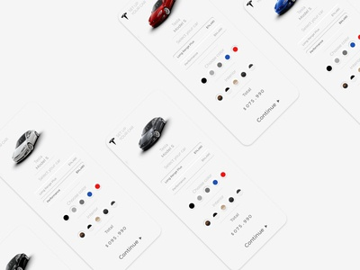 Tesla Set Up #DailyUI