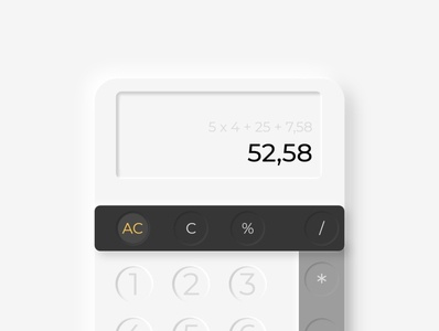 #DailyUI Calculator