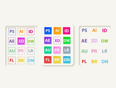 Adobe Creative Suite icons pack