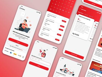 Provider App mobile ui mobile design mobile design challenge app package provider app internet provider mobile app ui mobile app