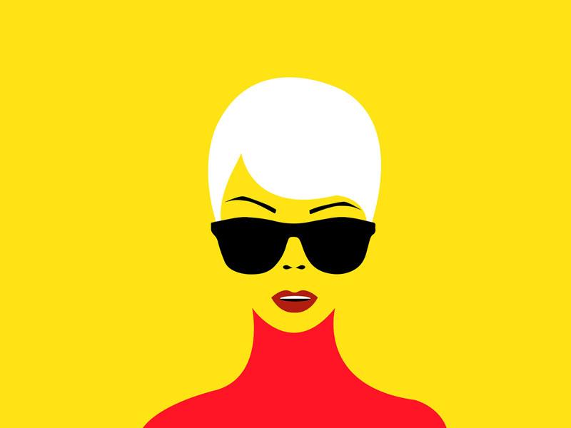 Laci Warhol: 1 vectorart vector colors digitalart illustrator design
