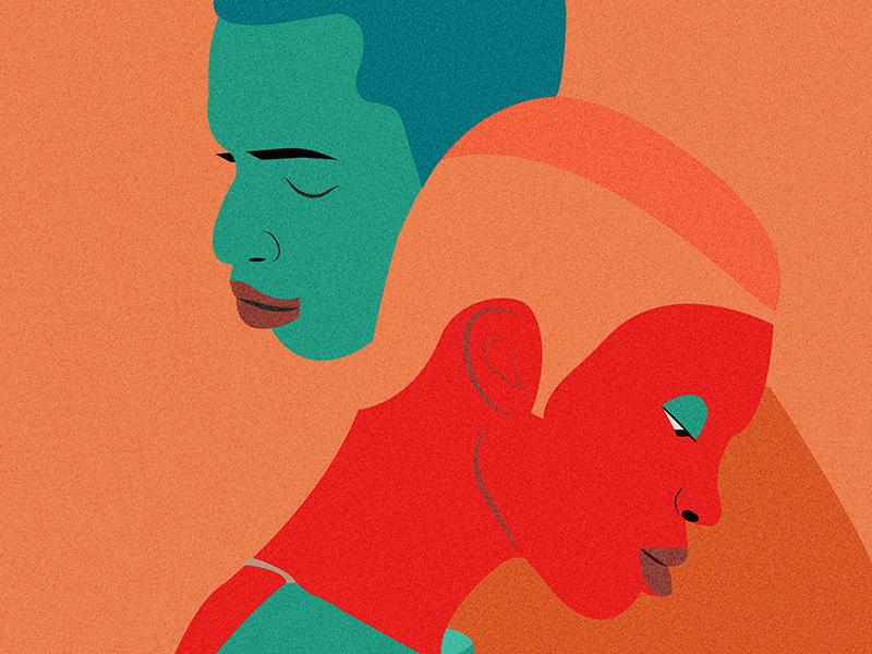 Lean On Me illustrator color illustration vector