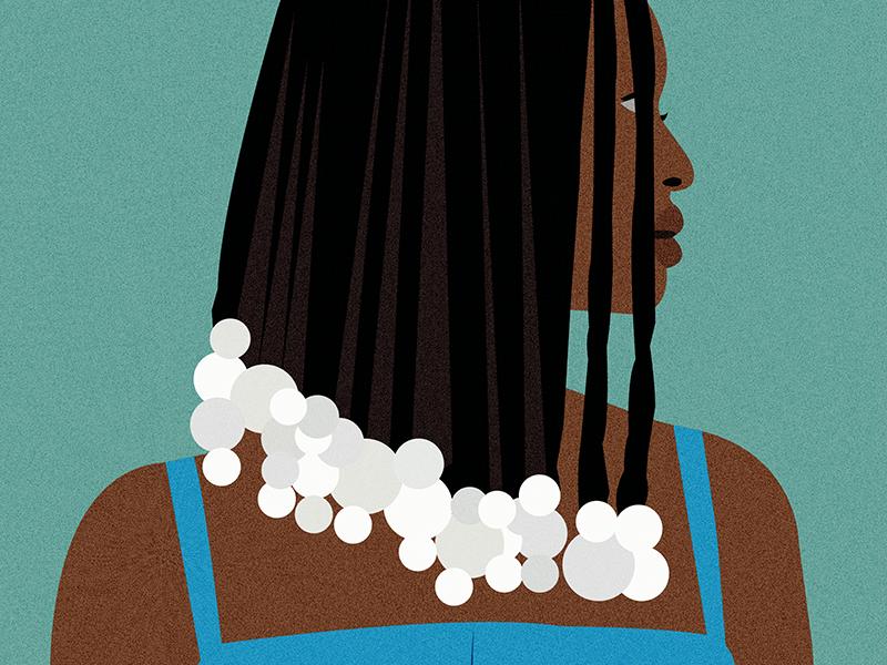 Kelela music kelela color vector illustrator illustration