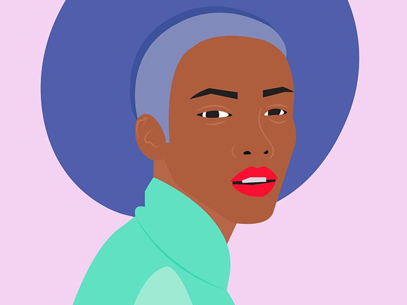 Squint color vector illustrator illustration