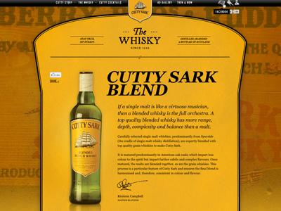 Cuttysark whisky