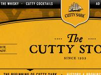 Cutty Sark Header
