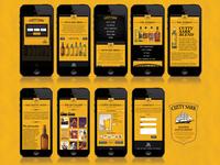 Mobile Cutty Sark Website