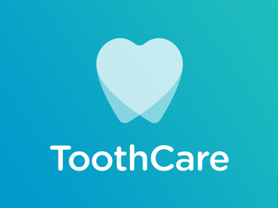 Tooth Care Logo tooth heart love dentist transparent line icon dentistry