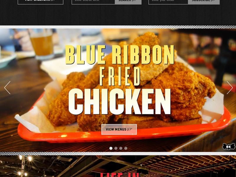 Brooklyn bowl fried chicken
