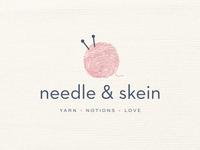 Needle & Skein Logo & Branding