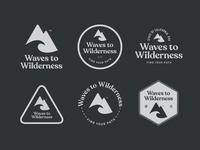 Waves To Wilderness Logo & Badges