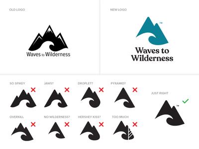 Waves To Wilderness Logo Refinement