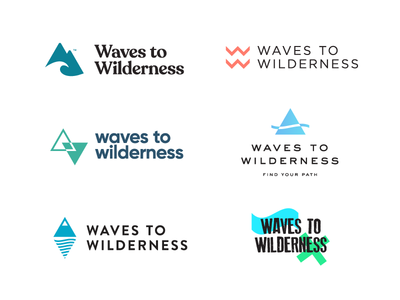 Waves To Wilderness Logo Explorations