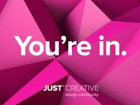 Just Creative | Design Community