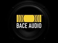 Bace Audio Sound Music Logo Design
