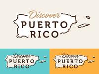 Discover Puerto Rico Logo Concept