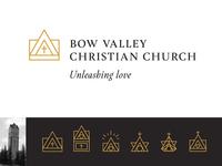 Church Building Logo Design Concepts
