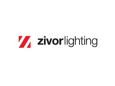Zivor Lighting Logo helvetica helvetica neue light logo lighting z