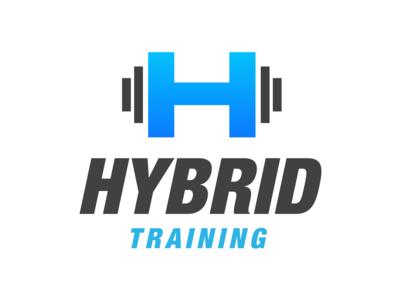 Hybrid Training Gym Fitness Logo - Alphabet Logo 19/26