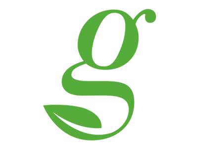 G Leaf Grow Network Logo - Alphabet Logo 20/26