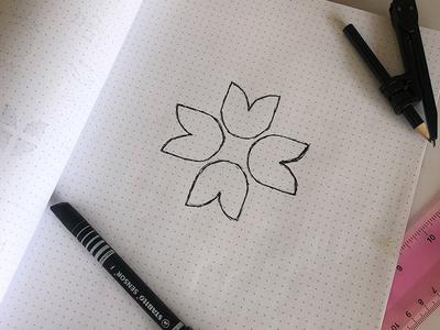 Tulip Logo Sketch