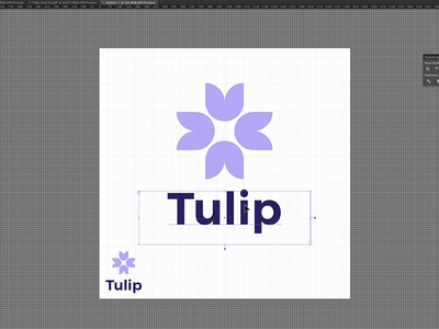 Tulip Logo Construction Process Video