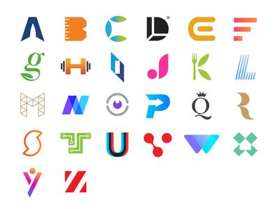 26 Logos Alphabet Dribbble