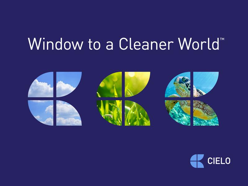 Cielo Logo Branding System resposive system branding flexible logo window c