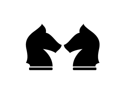 Horse Chess Crown Logo crown horses chess logo knight elegant horse consulting