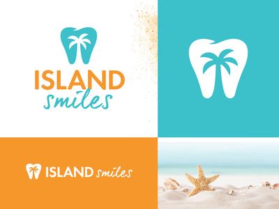 Island Smiles | Dentist Logo & Branding