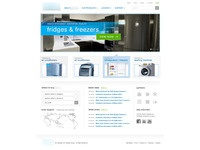 White Household Appliance Website