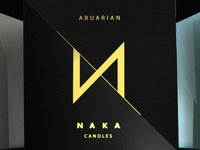 NAKA Luxury Candle (Identity)