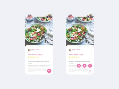 Daily UI Challenge #010 - Social Share
