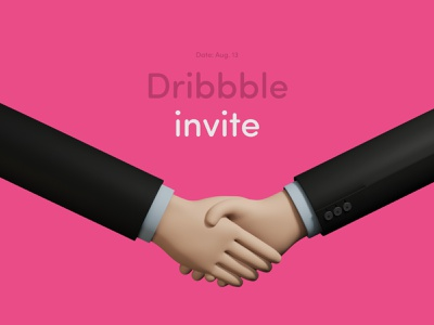 1x Dribbble invite dribbble invitation dribbble invite