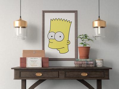 Bart Simpson Illustration
