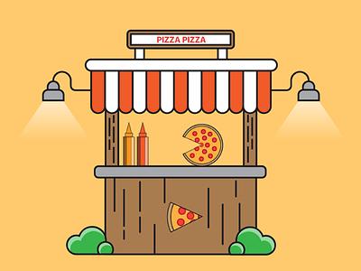 Pizza Pizza designer photoshop illustrator