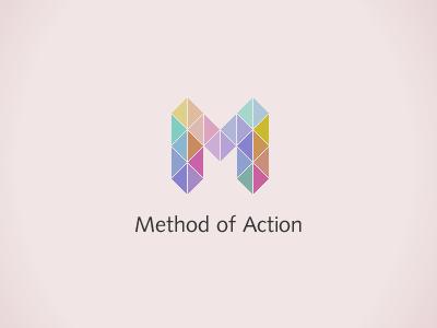 Method of Action logo logotype identity