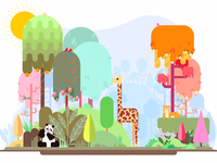 Little Jungle Illustration