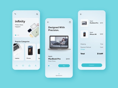 E-commerce App Design design customer experience graphic design ui ux