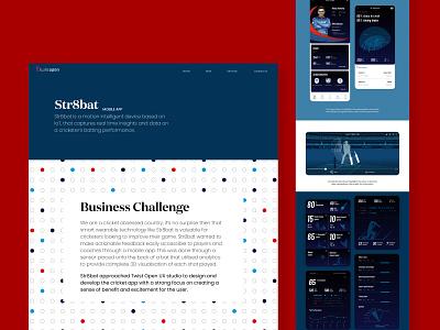 Str8bat - Mobile App illustration customer experience website web graphic design ux ui