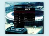 UI design of Scoryboard