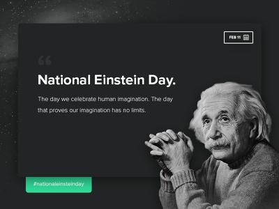 National Einstein Day! einstein albert